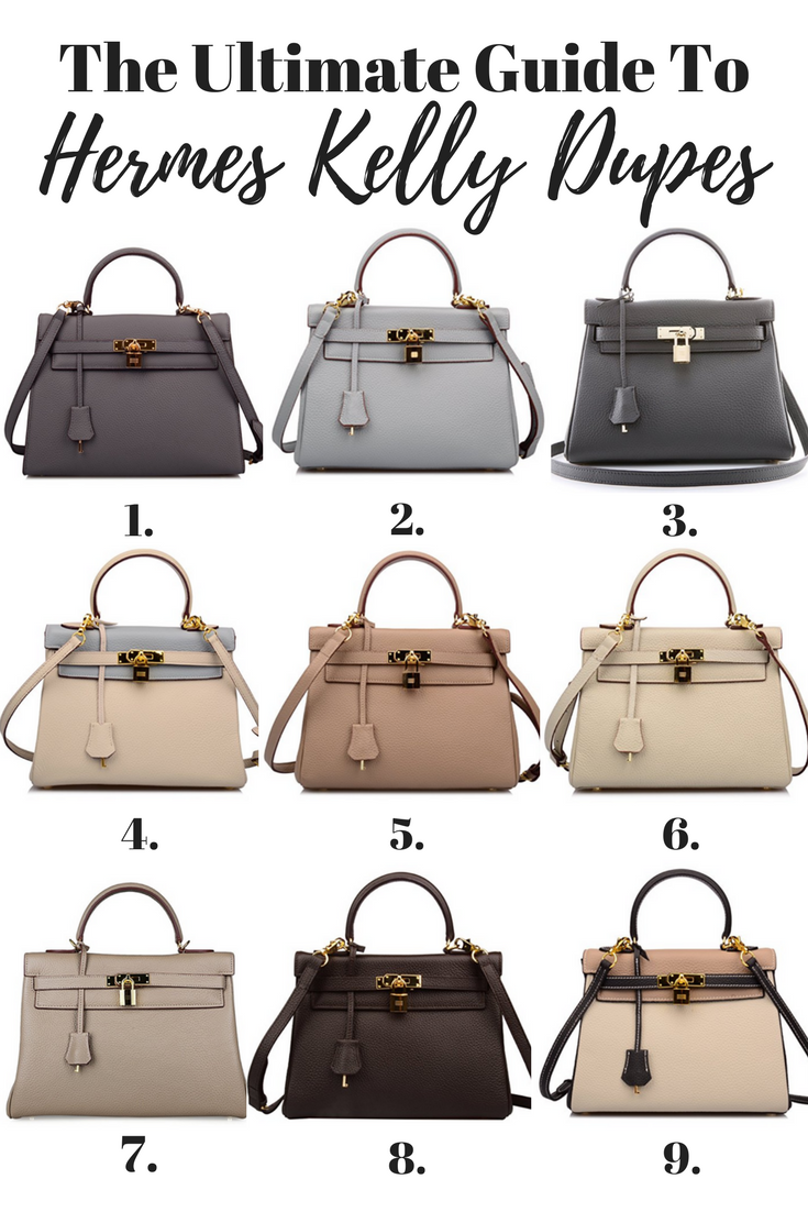 Hermes Kelly Bag Dupes - Your Ultimate Guide To Hermes Kelly Inspired Bags   Hermes Kelly Replica   Kelly Bag Replica