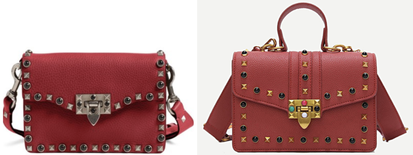 Red Valentino Rolling Rockstud Dupe | Valentino Dupes, Valentino Bag Dupes