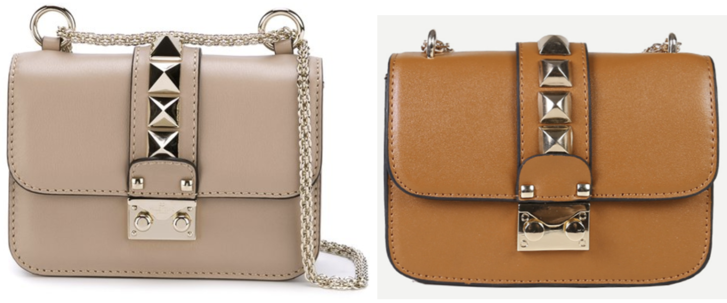 Nude Valentino Rolling Rockstud Dupe | Valentino Dupes, Valentino Bag Dupes