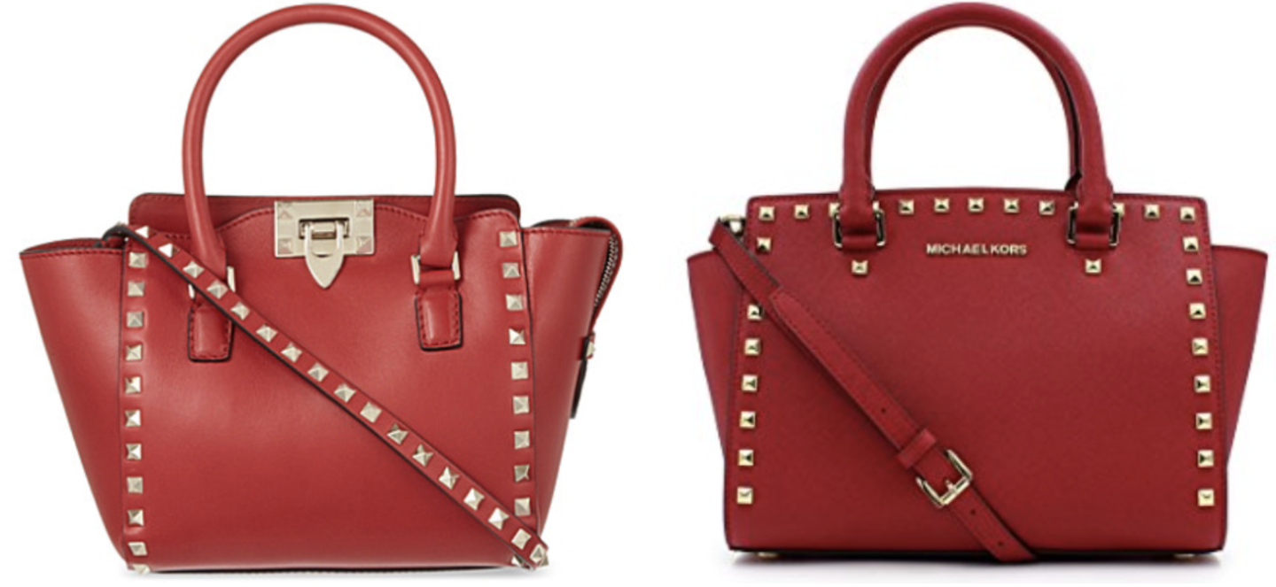 Red Valentino Mini Rockstud Tote Dupe | Valentino Dupes, Valentino Bag Dupes