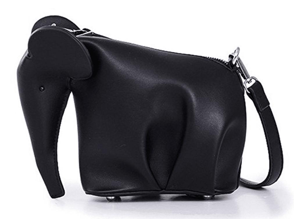 black loewe elephant bag dupe
