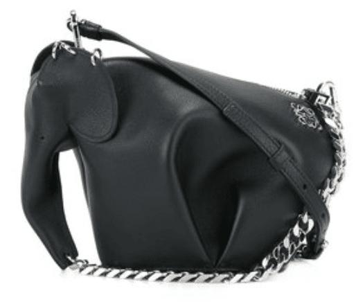 black loewe elephant bag