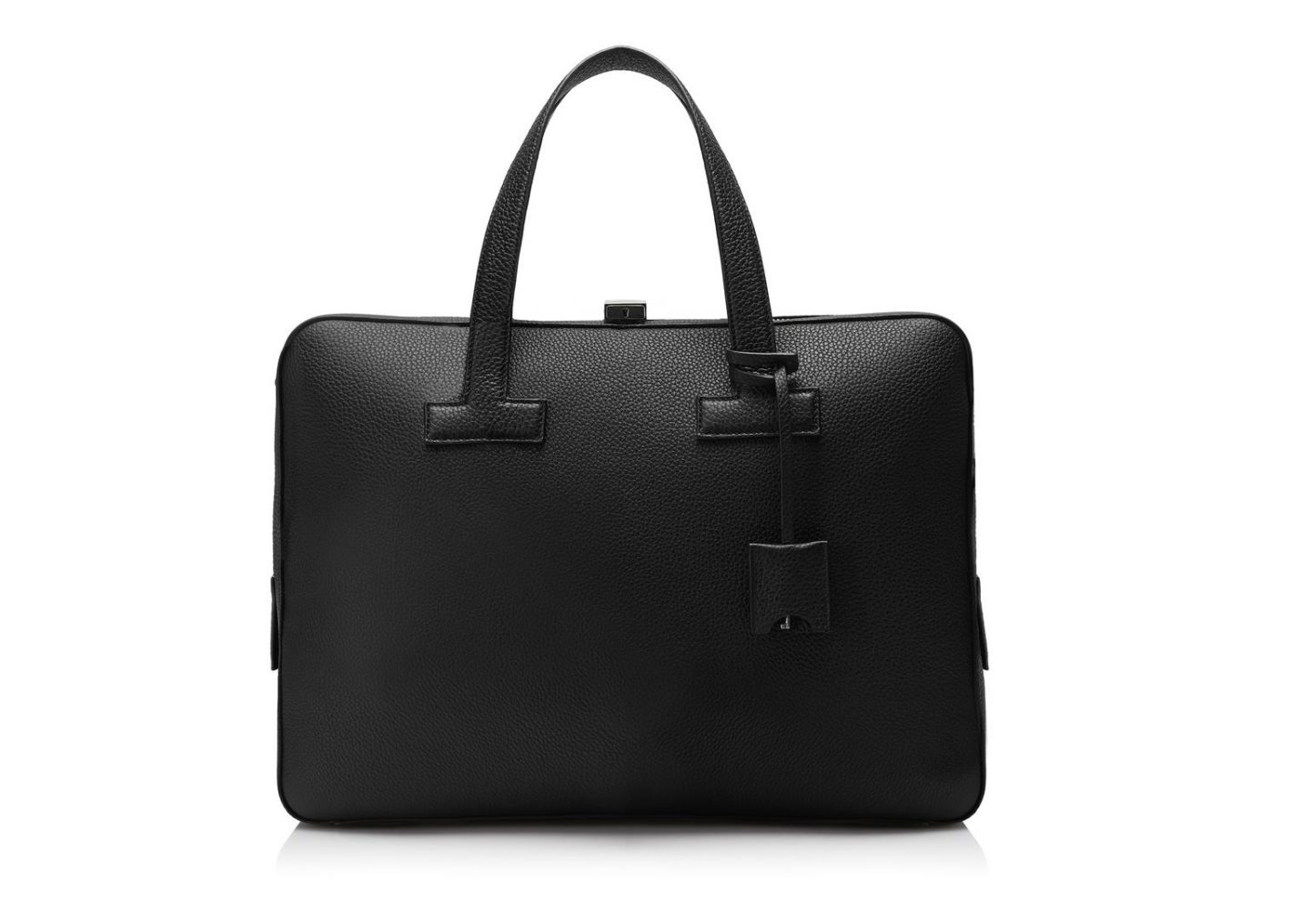 luxury gifts for men who have everything: leather briefcase