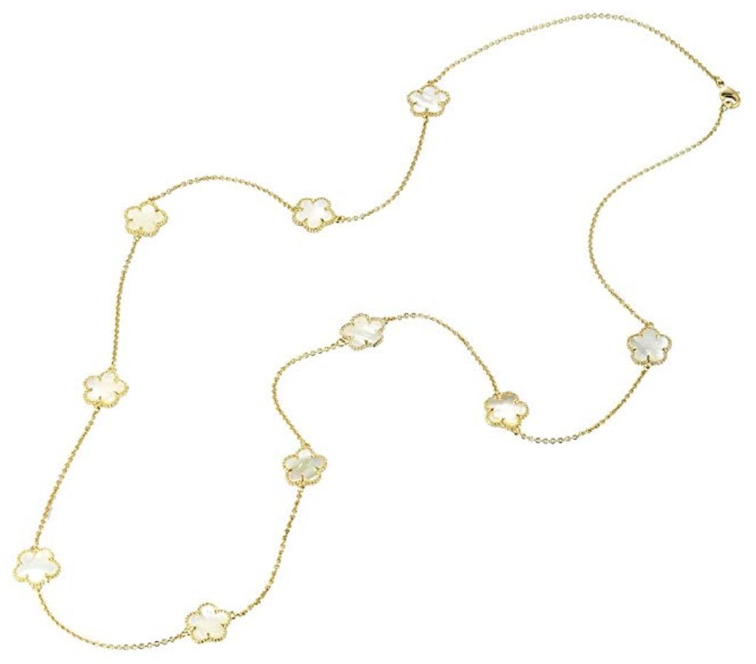 van cleef alhambra necklace dupe
