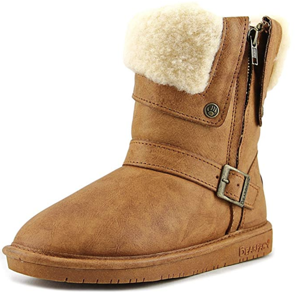 Cheaper version of UGGs: tan Ugg dupes