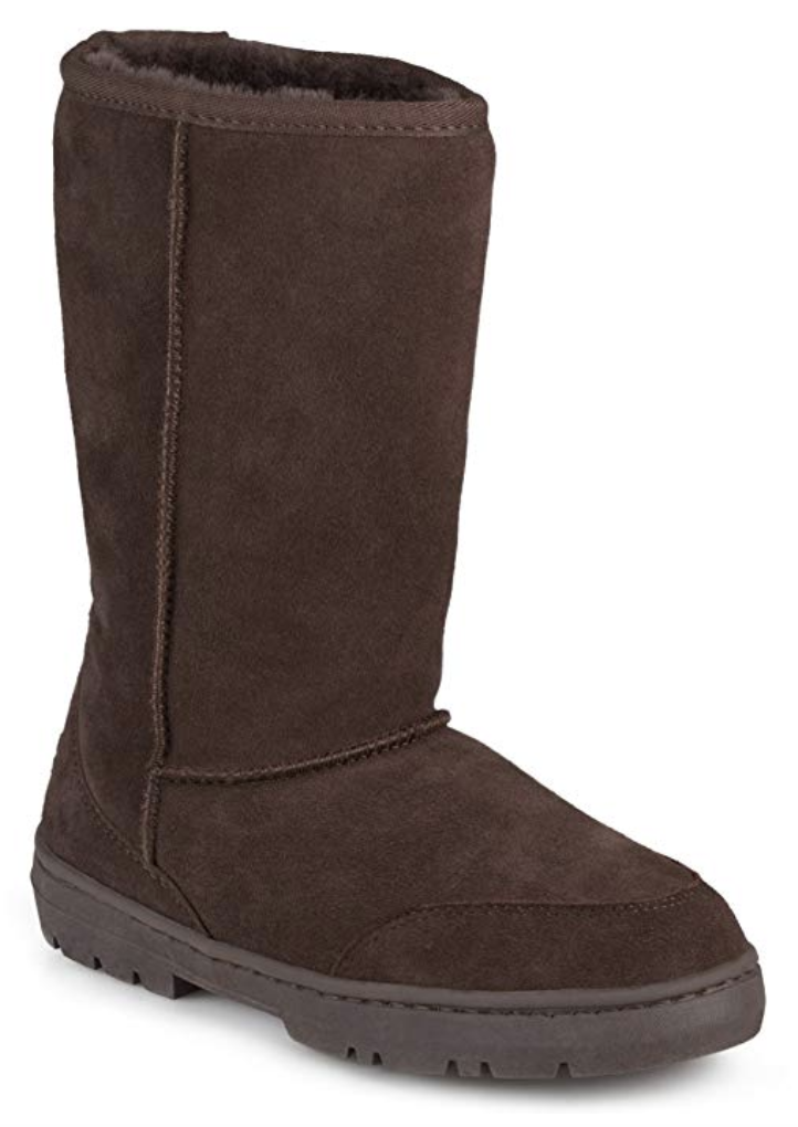 Cheaper version of UGGs: brown UGGs dupe