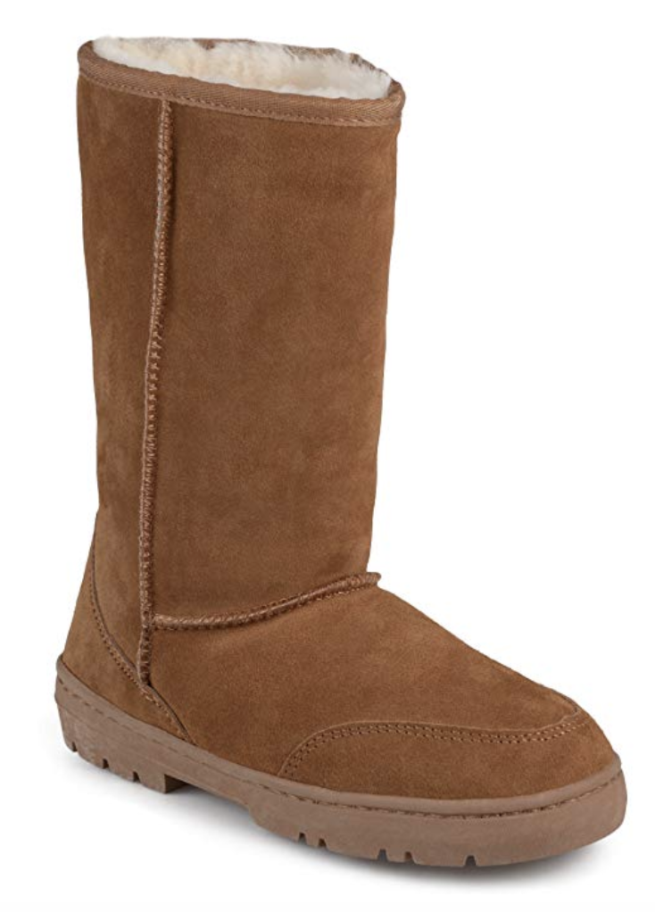 Cheaper version of UGGs: tan UGGs dupe