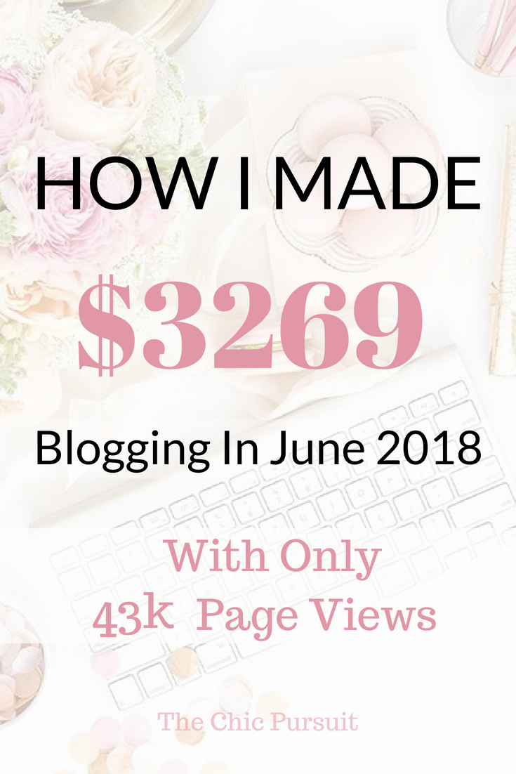 Here's how this fashion blogger earned over $3200 in just one month blogging. This blogging income report will show you everything you need to know about starting a money making blog, what affiliate networks to use and how to be a successful blogger! #howtostartablog #makemoneyblogging #waystomakeextramoney #fashionblogger #incomereport