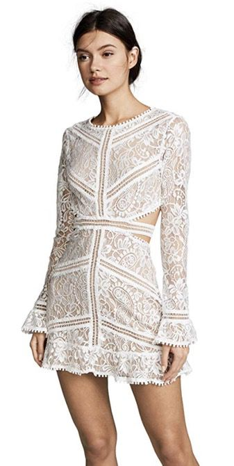 50 Best Amazon Clothing Finds & Outfits For Women -White long sleeve lace dress. This is where to shop for cheap items that look expensive! We've compiled a list of the best boots, shoes, bags, designer dupes, dresses, coats and cardigans for both the summer and winter seasons.