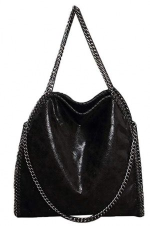 50 Best Amazon Clothing Finds & Outfits For Women - Black Stella McCartney Falabella Dupe. This is where to shop for cheap items that look expensive! We've compiled a list of the best boots, shoes, bags, designer dupes, dresses, coats and cardigans for both the summer and winter seasons.