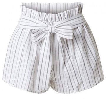 50 Best Amazon Clothing Finds & Outfits For Women - White Striped Bermuda Shorts. This is where to shop for cheap items that look expensive! We've compiled a list of the best boots, shoes, bags, designer dupes, dresses, coats and cardigans for both the summer and winter seasons.