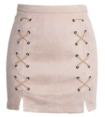 50 Best Amazon Clothing Finds & Outfits For Women - Pink Lace Up Skirt. This is where to shop for cheap items that look expensive! We've compiled a list of the best boots, shoes, bags, designer dupes, dresses, coats and cardigans for both the summer and winter seasons.