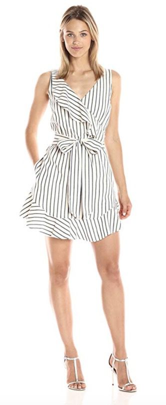 50 Best Amazon Clothing Finds & Outfits For Women - White Stripe Dress. This is where to shop for cheap items that look expensive! We've compiled a list of the best boots, shoes, bags, designer dupes, dresses, coats and cardigans for both the summer and winter seasons.