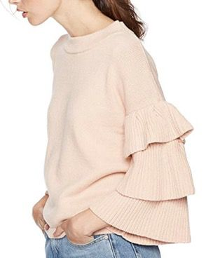 50 Best Amazon Clothing Finds & Outfits For Women - Apricot Pink Ruffle Sleeve Blouse. This is where to shop for cheap items that look expensive! We've compiled a list of the best boots, shoes, bags, designer dupes, dresses, coats and cardigans for both the summer and winter seasons.