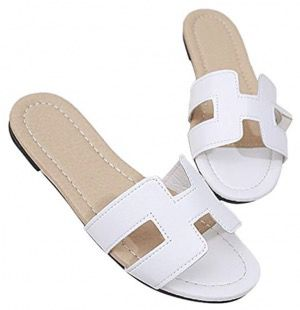 50 Best Amazon Clothing Finds & Outfits For Women - White Hermes Sandals Dupe This is where to shop for cheap items that look expensive! We've compiled a list of the best boots, shoes, bags, designer dupes, dresses, coats and cardigans for both the summer and winter seasons.