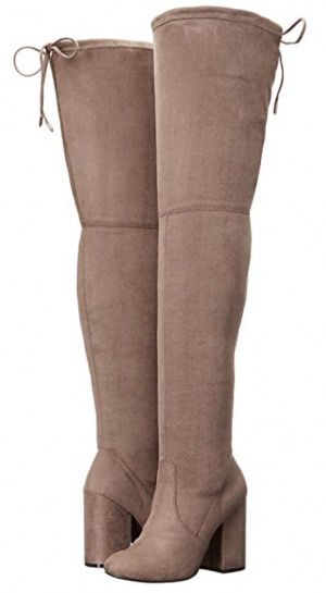 50 Best Amazon Clothing Finds & Outfits For Women - Taupe Over The Knee Boots. This is where to shop for cheap items that look expensive! We've compiled a list of the best boots, shoes, bags, designer dupes, dresses, coats and cardigans for both the summer and winter seasons.