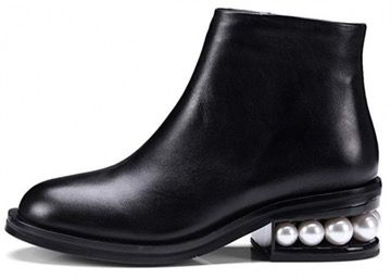 50 Best Amazon Clothing Finds & Outfits For Women - Black Nicholas Kirkwood Dupes / Black Ankle Boots With Pearls. This is where to shop for cheap items that look expensive! We've compiled a list of the best boots, shoes, bags, designer dupes, dresses, coats and cardigans for both the summer and winter seasons.