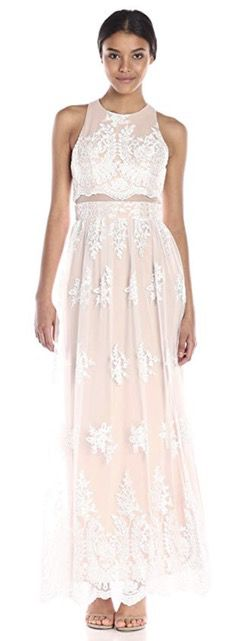 50 Best Amazon Clothing Finds & Outfits For Women -White lace maxi dress. This is where to shop for cheap items that look expensive! We've compiled a list of the best boots, shoes, bags, designer dupes, dresses, coats and cardigans for both the summer and winter seasons.