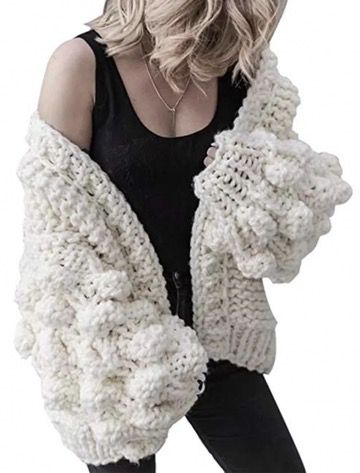 50 Best Amazon Clothing Finds & Outfits For Women - Bubble Sleeve Cardigan White. This is where to shop for cheap items that look expensive! We've compiled a list of the best boots, shoes, bags, designer dupes, dresses, coats and cardigans for both the summer and winter seasons.