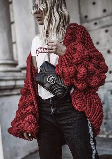 50 Best Amazon Clothing Finds & Outfits For Women - Bubble Sleeve Cardigan Red. This is where to shop for cheap items that look expensive! We've compiled a list of the best boots, shoes, bags, designer dupes, dresses, coats and cardigans for both the summer and winter seasons.