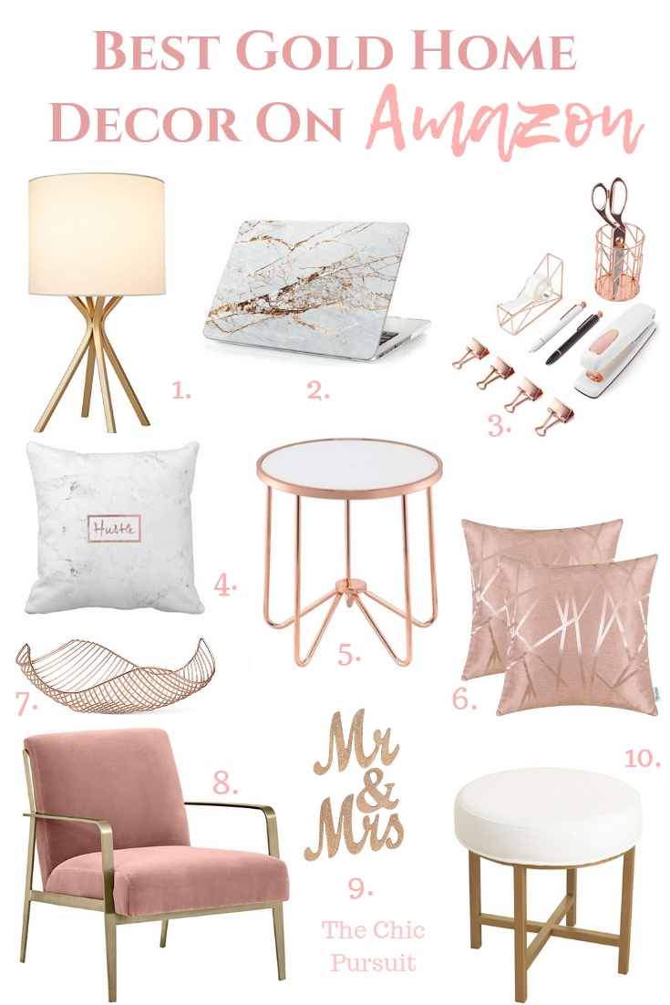 Best Gold Home Decor Accents The Ideas For A Beautiful Whether