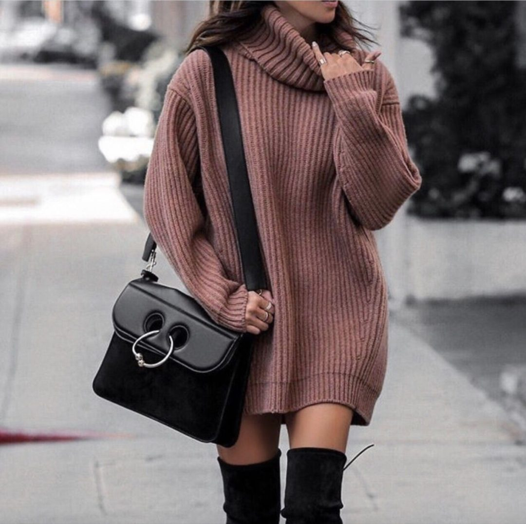 17+ OVER THE KNEE BOOT OUTFIT LOOKS TO GET INSPIRED BY