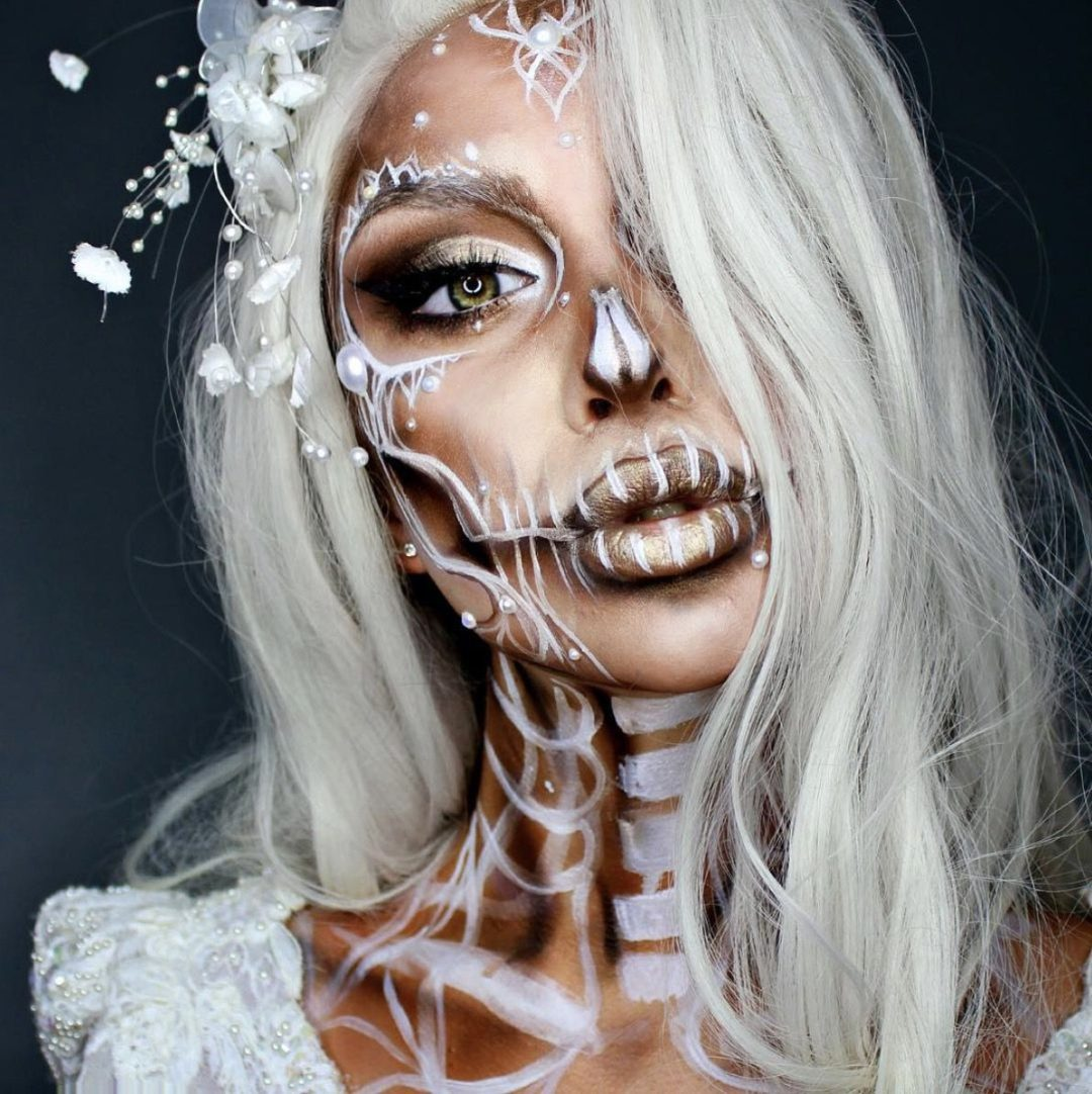 41 MOST JAW-DROPPING HALLOWEEN MAKEUP IDEAS THAT ARE STILL PRETTY