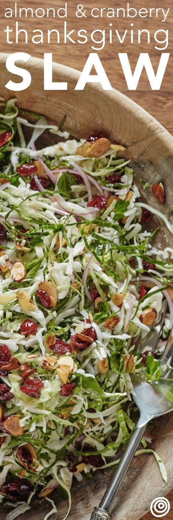 15 Drool Worthy Thanksgiving recipes for your dinner party! Explore updated & traditional Thanksgiving recipes, like this vegan Thanksgiving slaw recipe. Click to get more cooking inspiration for Thanksgiving food, side dishes and find some stuffing recipes for Thanksgiving. #thanksgivingrecipes #thanksgivingsidedishes #thanksgivingsidedishrecipes