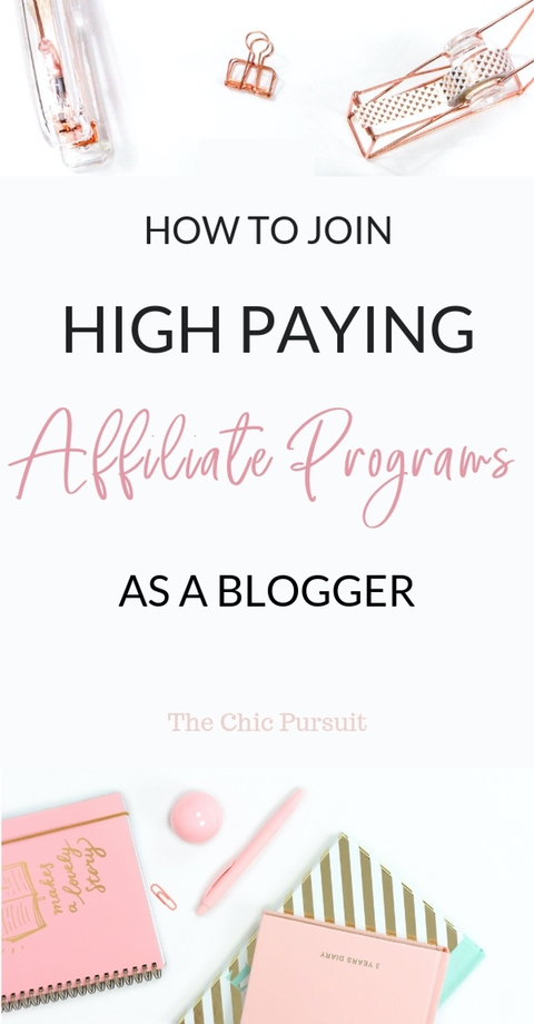 30+ High Paying Affiliate Programs For Bloggers - Are you serious about making money blogging and want to get started with affiliate marketing? Here are my top high-paying affiliate programs for beginners! Affiliate marketing tips for new bloggers | Affiliate marketing for beginners | affiliate marketing for bloggers. #affiliatemarketing #affiliateprograms Read all about it here!